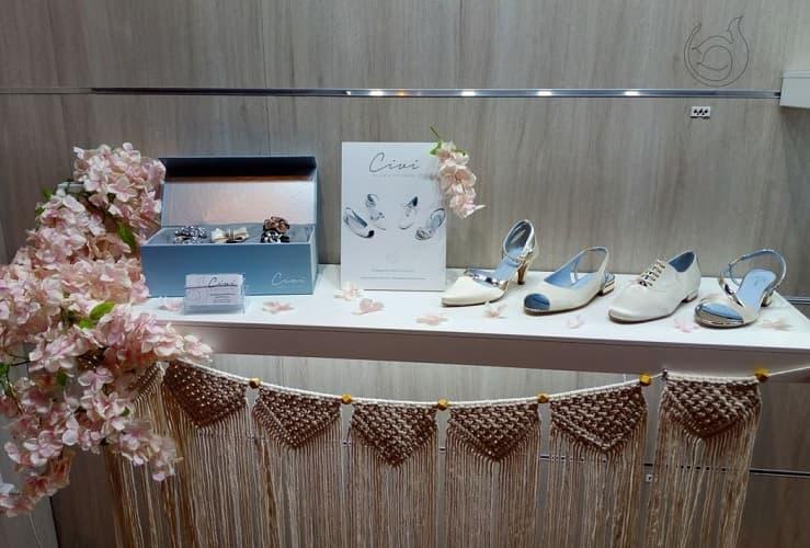 Los zapatos de novia llegan a MOMAD SHOES