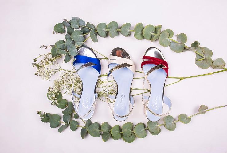 Zapatos de colores para novia