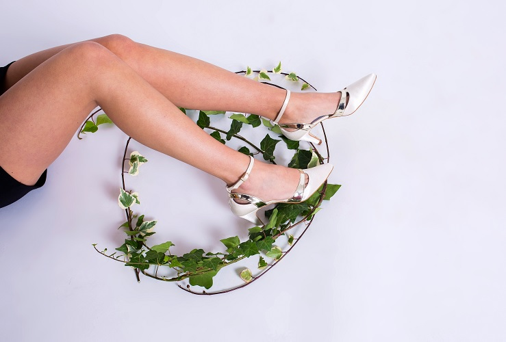 Zapato de tacón bajo sinónimo de comodidad