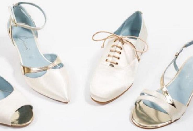 ¿Cómo conseguir los zapatos de novia más cómodos?